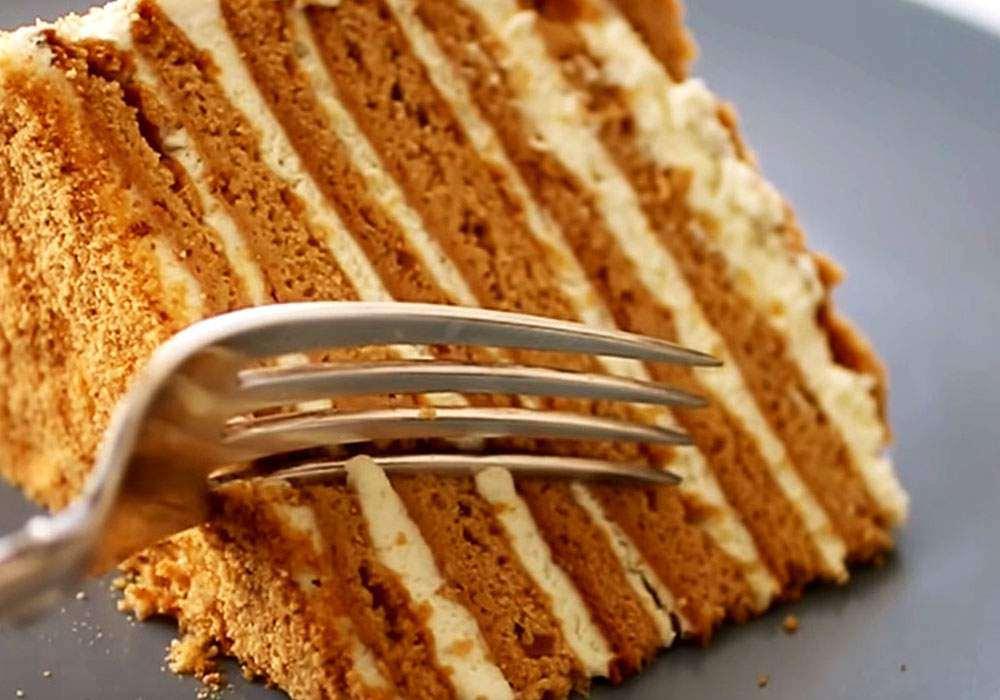 Торт Медовик - пошаговый рецепт, фото 1