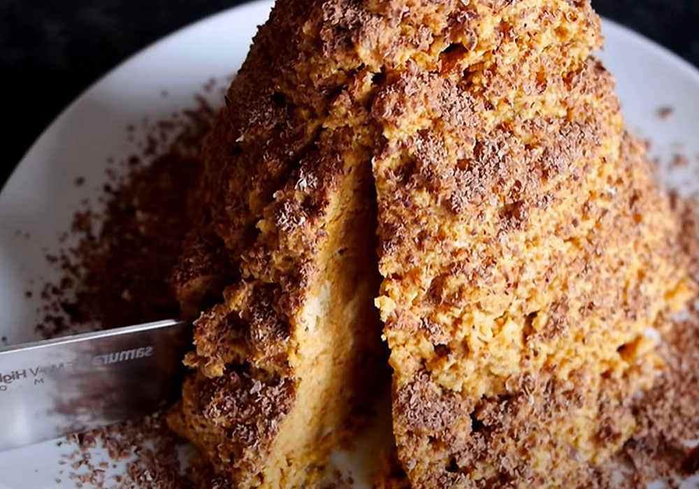 Торт Муравейник с масляным кремом - пошаговый рецепт, фото 1