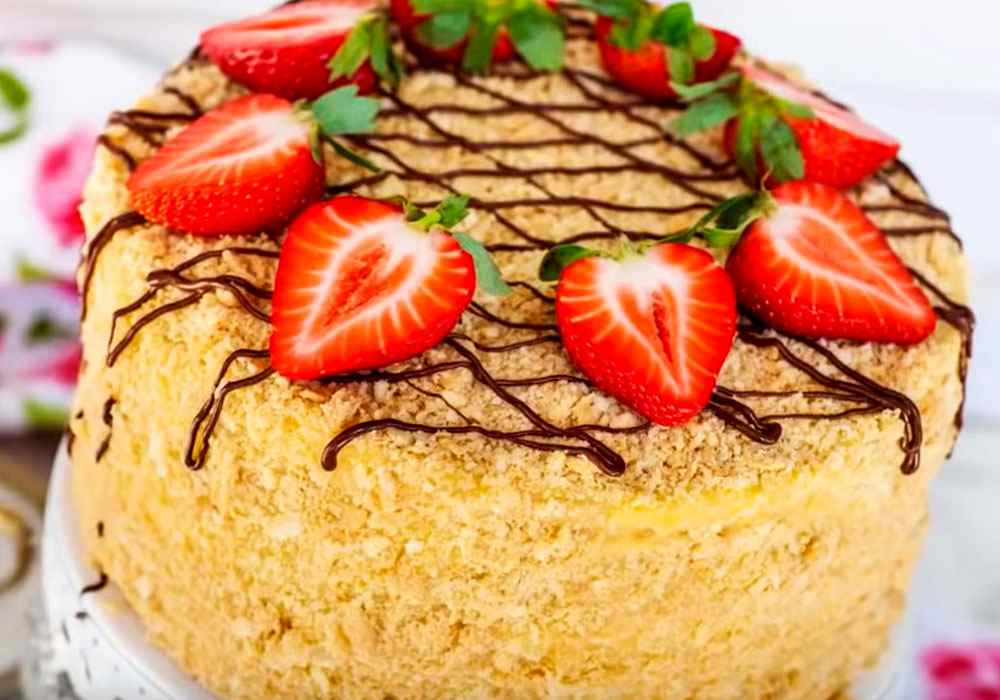 Торт Наполеон - пошаговый рецепт, фото 1