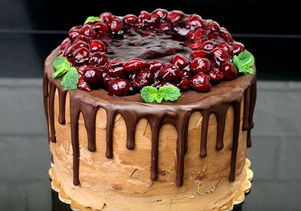Торт Пьяная вишня - пошаговый рецепт, фото 1