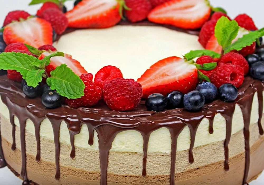 Торт Три шоколада - пошаговый рецепт, фото 1