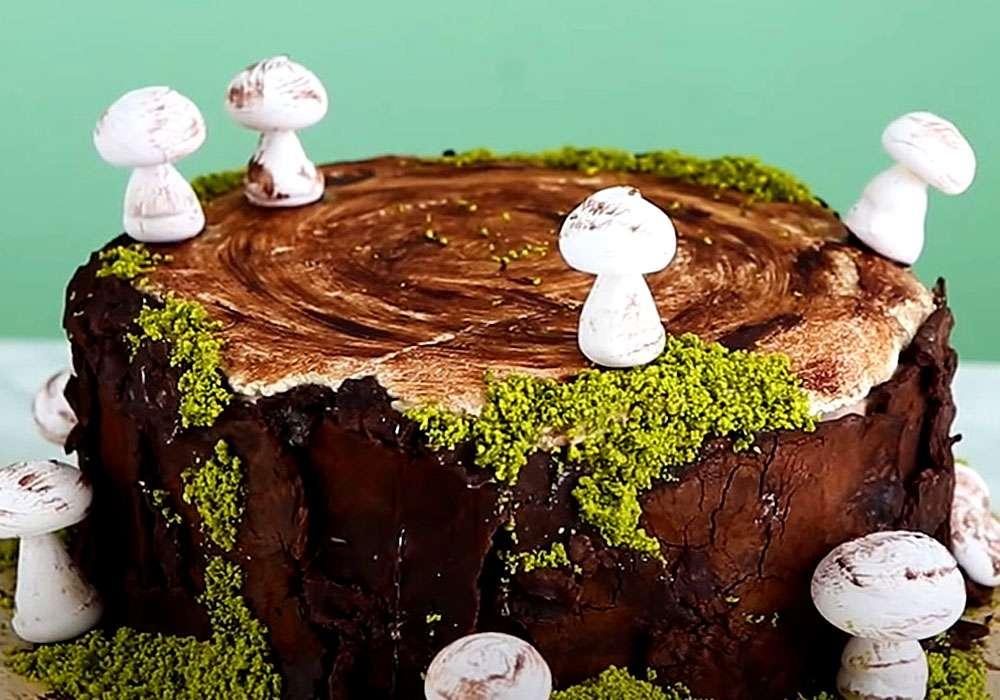Торт Трухлявий пень - покроковий рецепт, фото 1
