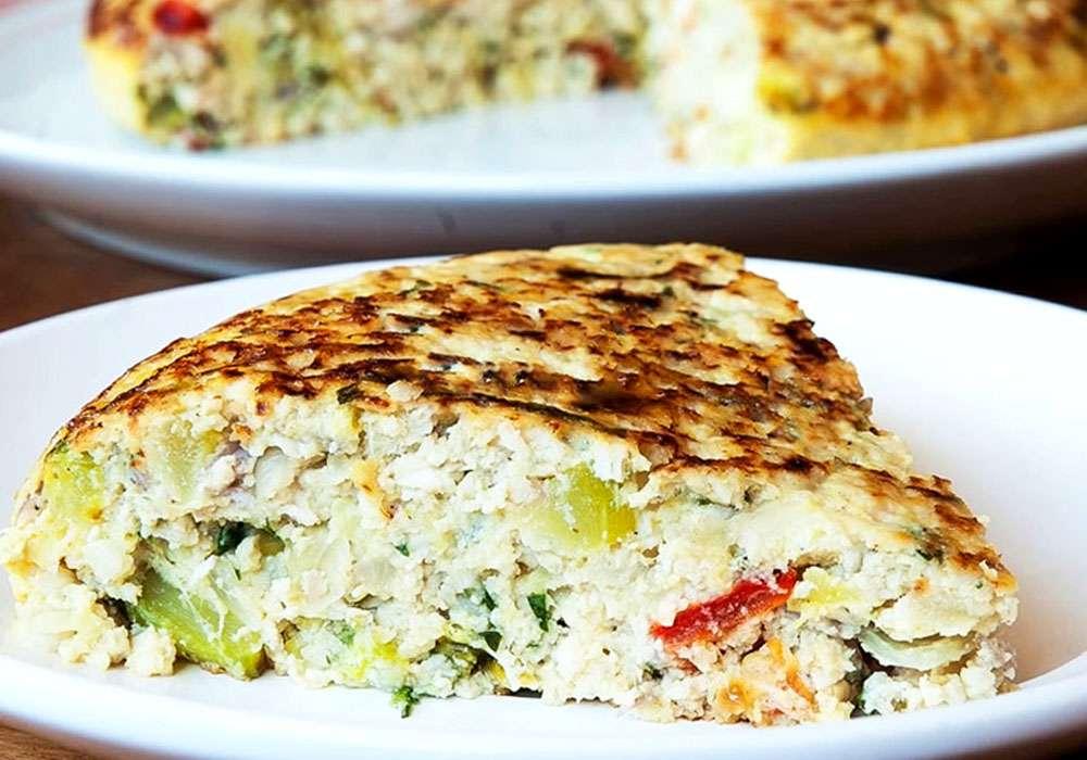 Тортилья с курицей и овощами - пошаговый рецепт, фото 1