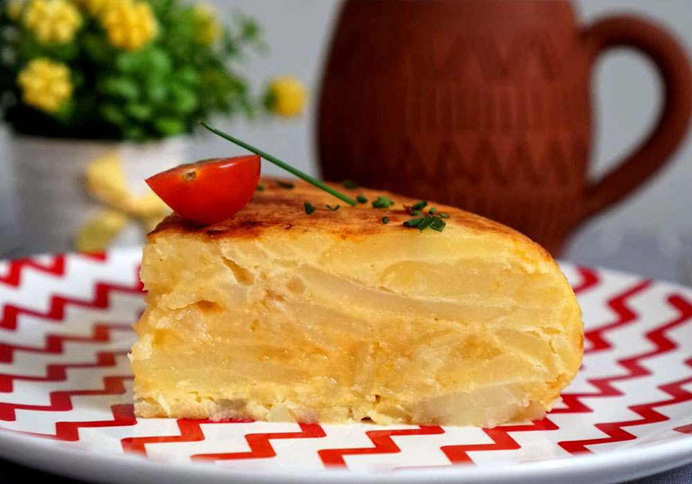 Тортилья картофельная - пошаговый рецепт, фото 1