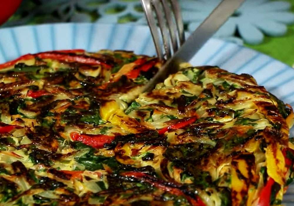 Тортилья овощная - пошаговый рецепт, фото 1