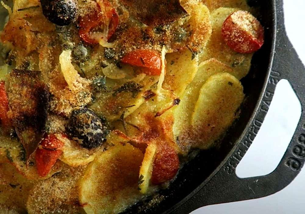Треска, запеченная с картофелем и овощами - пошаговый рецепт, фото 1