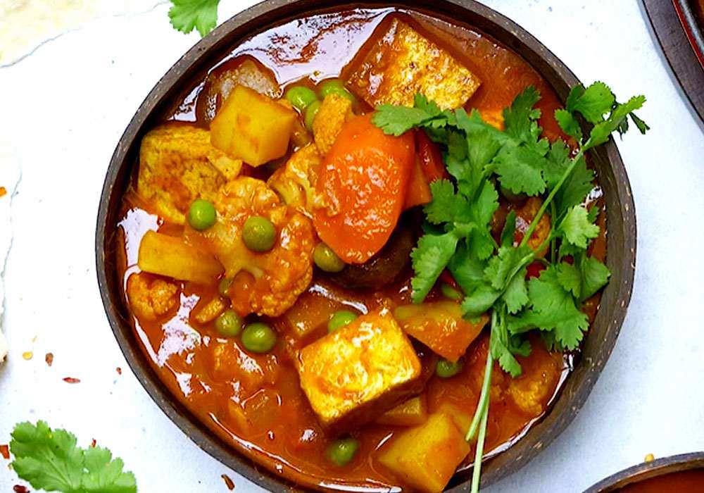 Цветная капуста с тофу - пошаговый рецепт, фото 1