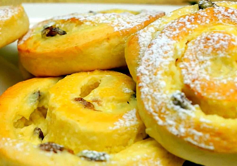 Сирне печиво Розочка - покроковий рецепт, фото 1