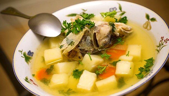 Юшка з рибної голови - покроковий рецепт, фото 1