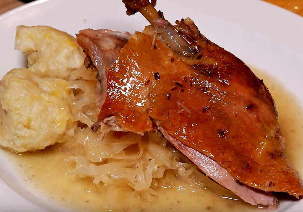 Утка в казане - пошаговый рецепт, фото 1