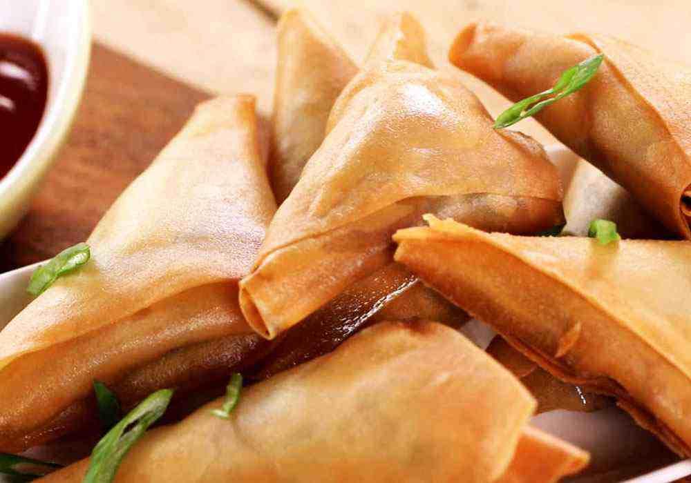 Узбекская самса с курицей - пошаговый рецепт, фото 1