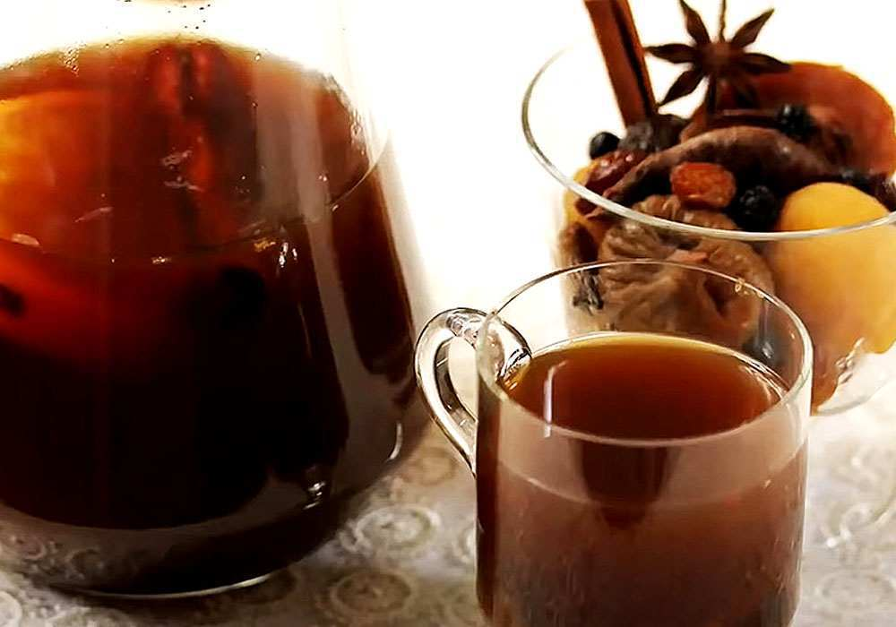 Узвар з медом - покроковий рецепт, фото 1