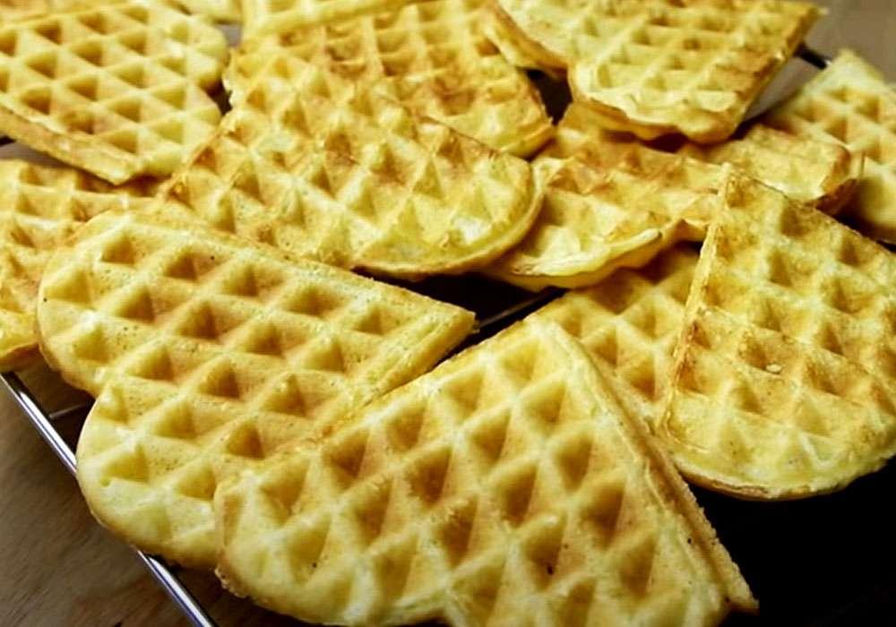 Вафельки-вкусняшки - пошаговый рецепт, фото 1