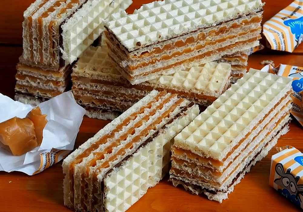 Вафельный торт Ферреро Роше - пошаговый рецепт, фото 1
