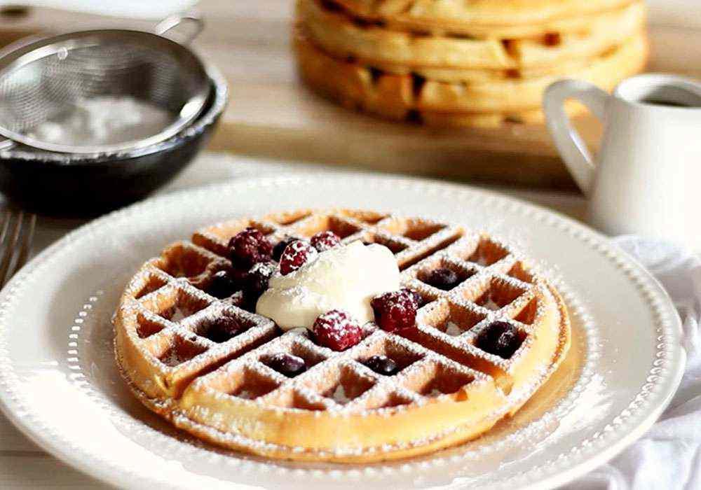 Вафли хрустящие в вафельнице - пошаговый рецепт, фото 1