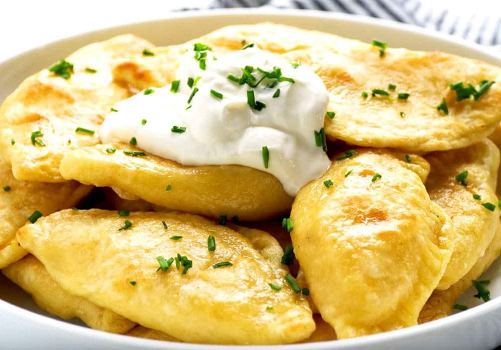 Вареники с картошкой - пошаговый рецепт, фото 1