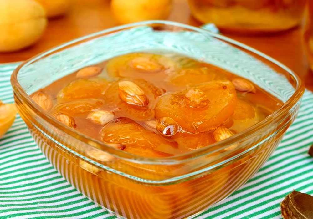абрикосовое варенье дольками рецепт с фото поставить