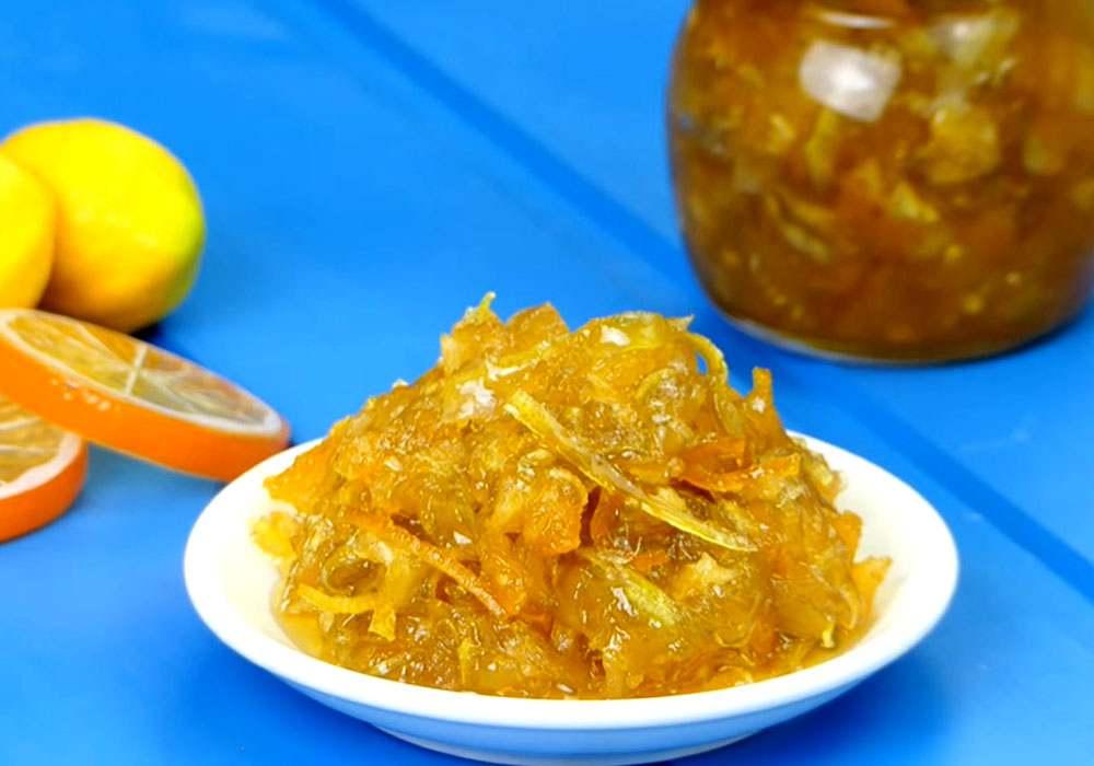 Варенье из кабачков и апельсинов - пошаговый рецепт, фото 1