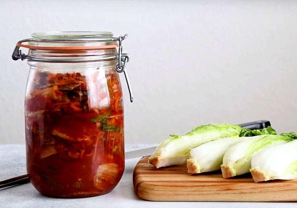 Веганский кимчи - пошаговый рецепт, фото 1