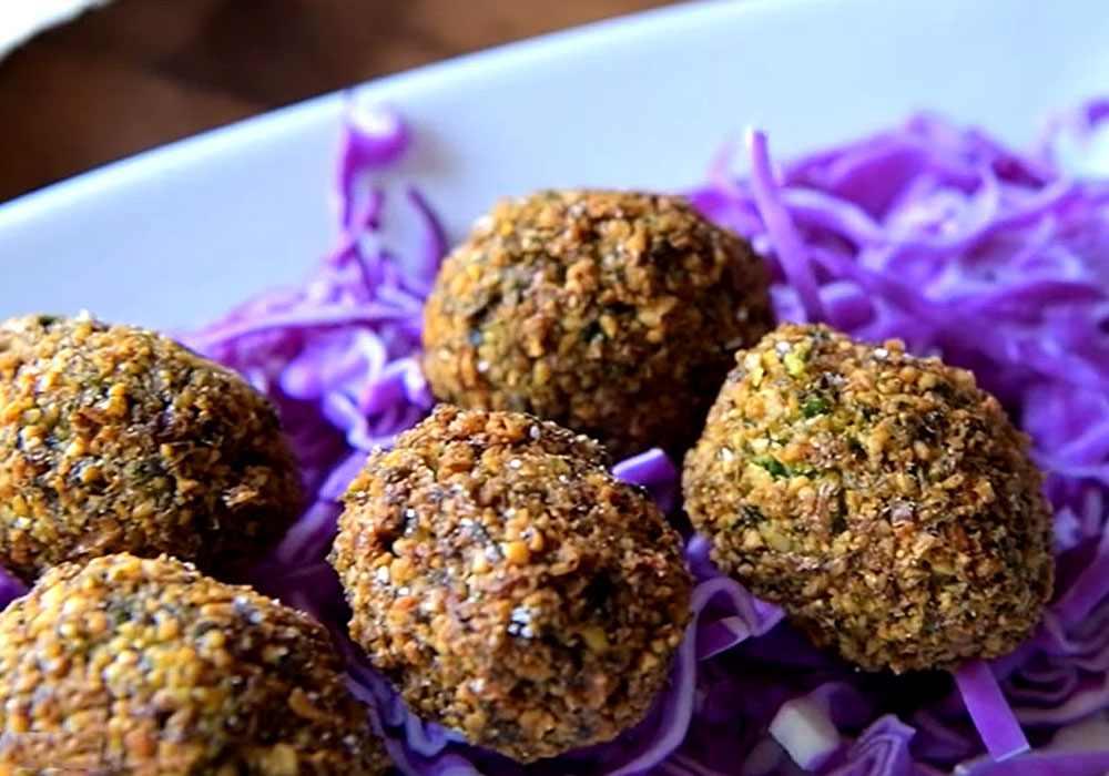 Вегетарианские котлеты из нута (Фалафель) - пошаговый рецепт, фото 1
