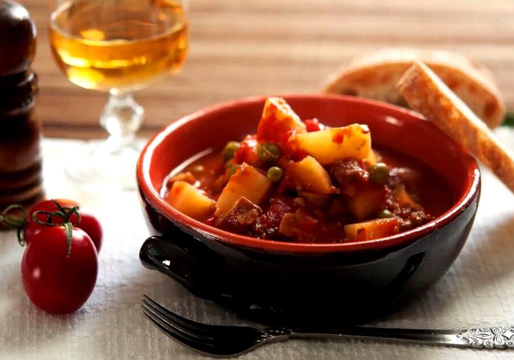 Вегетарианское рагу - пошаговый рецепт, фото 1
