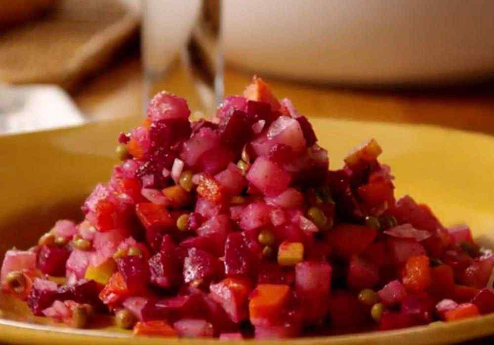 Винегрет с горошком - пошаговый рецепт, фото 1
