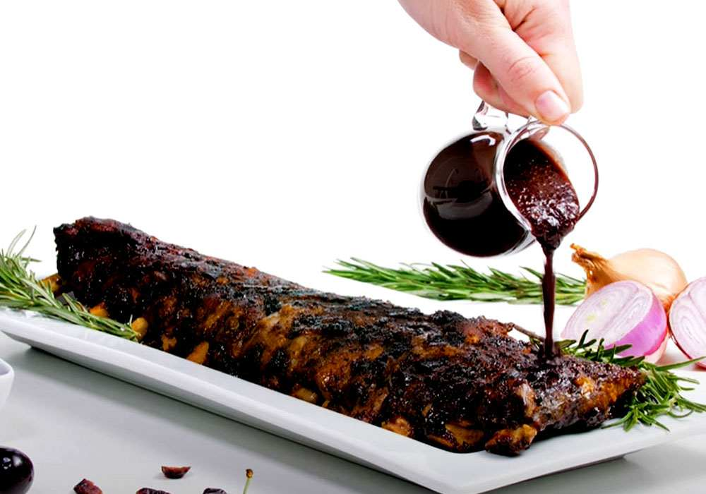 Вишневый соус к мясу - пошаговый рецепт, фото 1