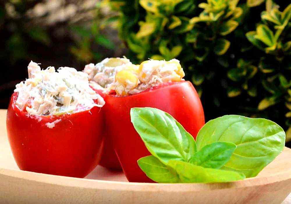 Вкусная закуска из помидор - пошаговый рецепт, фото 1