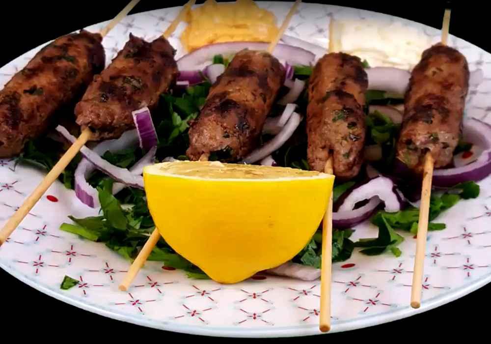 Вкусный люля кебаб из говядины - пошаговый рецепт, фото 1