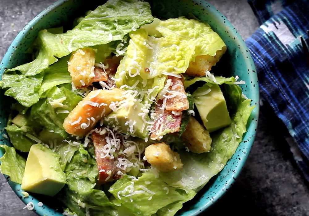 Вкусный салат цезарь - пошаговый рецепт, фото 1