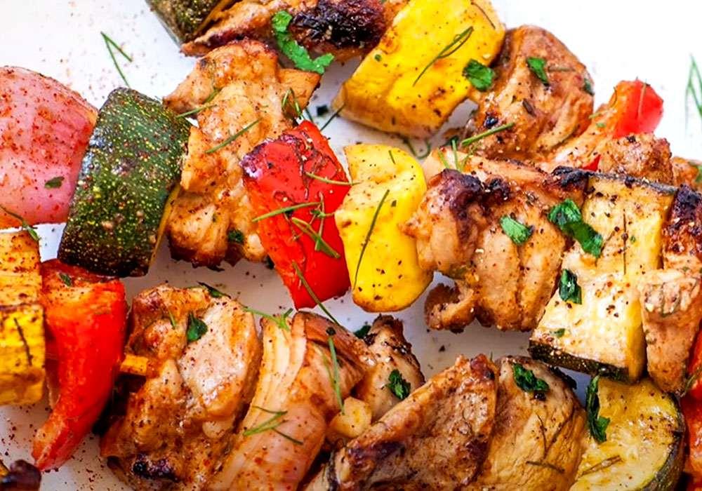 Вкусный шашлык из курицы мягкий и сочный - пошаговый рецепт, фото 1