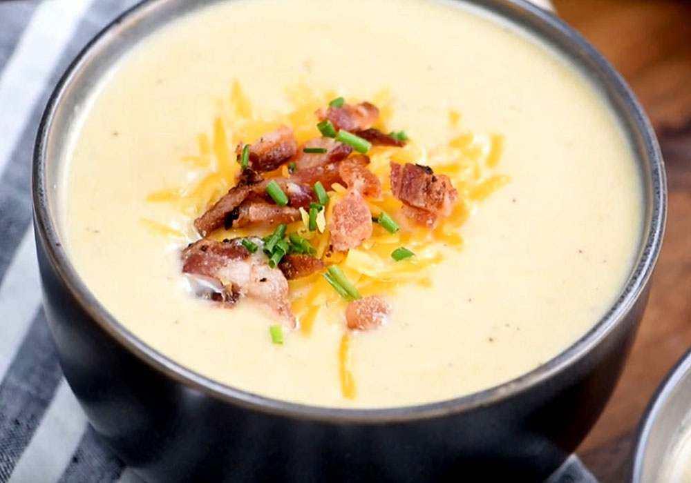 Смачний сирний суп - покроковий рецепт, фото 1