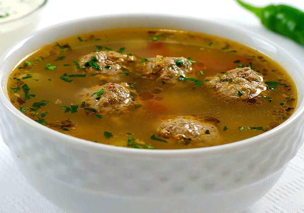 Вкусный суп с фрикадельками - пошаговый рецепт, фото 1