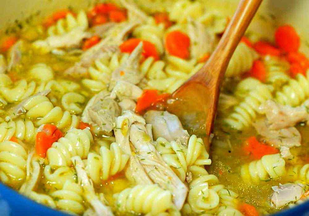 Смачний суп з куркою і вермішеллю - покроковий рецепт, фото 1