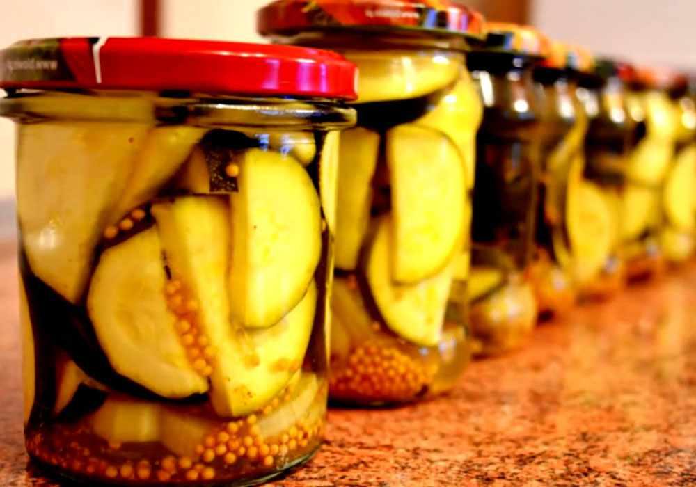Смачні мариновані кабачки - покроковий рецепт, фото 1