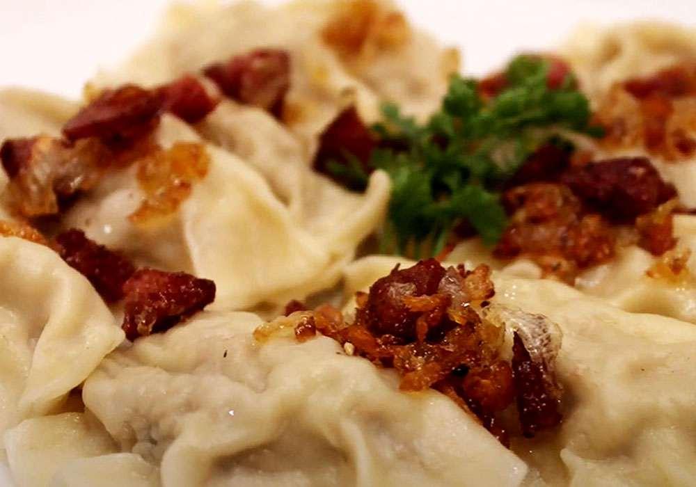 Вкусные вареники с капустой - пошаговый рецепт, фото 1