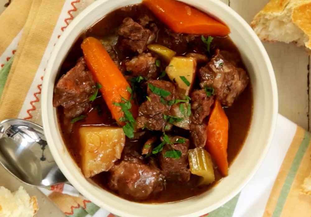Вкусное жаркое из говядины - пошаговый рецепт, фото 1