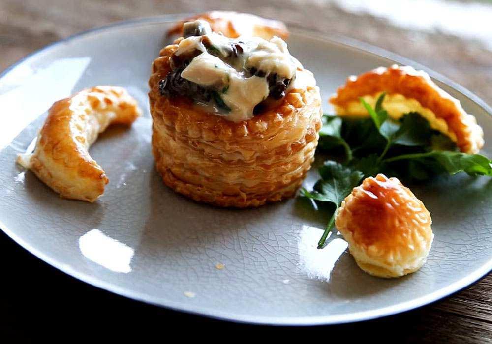 Воловани з куркою і грибами - покроковий рецепт, фото 1