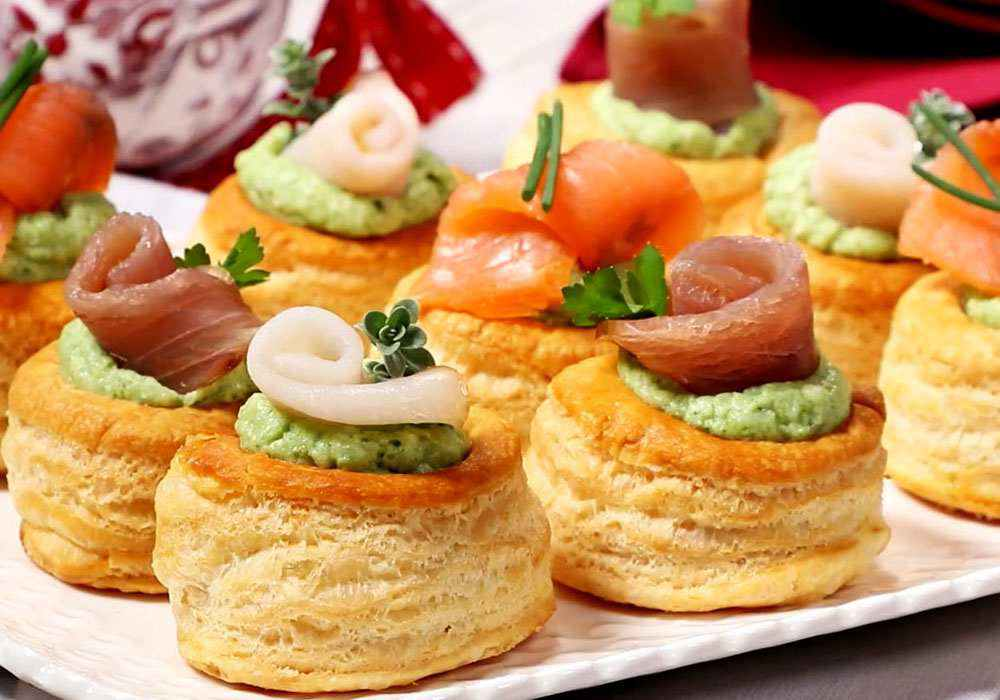 Волованы с морепродуктами - пошаговый рецепт, фото 1