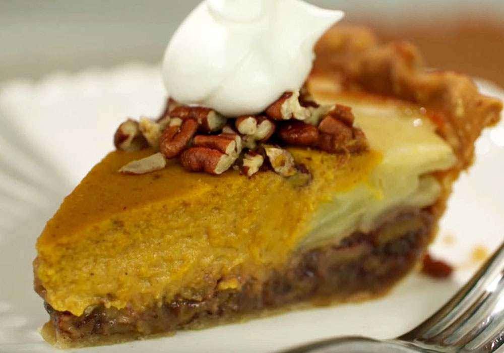 Яблучно-гарбузовий пиріг - покроковий рецепт, фото 1