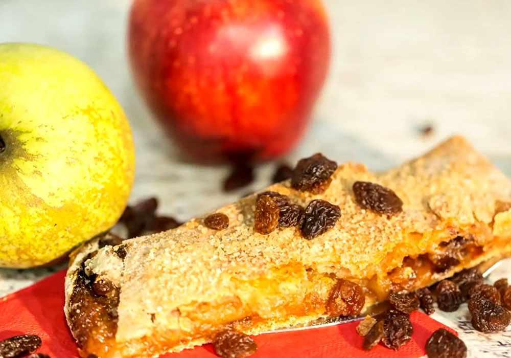 Яблочный штрудель простой рецепт - пошаговый рецепт, фото 1