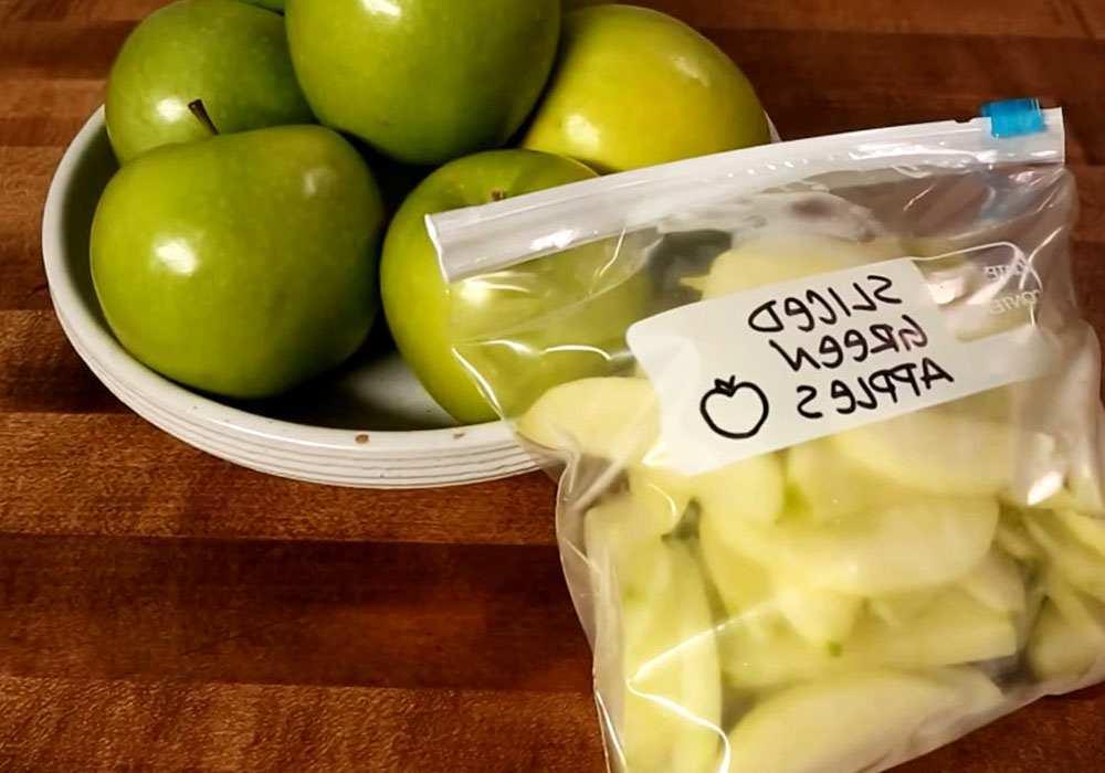 Яблука заморожені - покроковий рецепт, фото 1