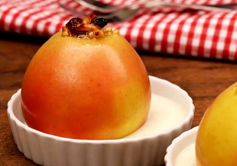 Яблоки, запеченные с миндалем - пошаговый рецепт, фото 1