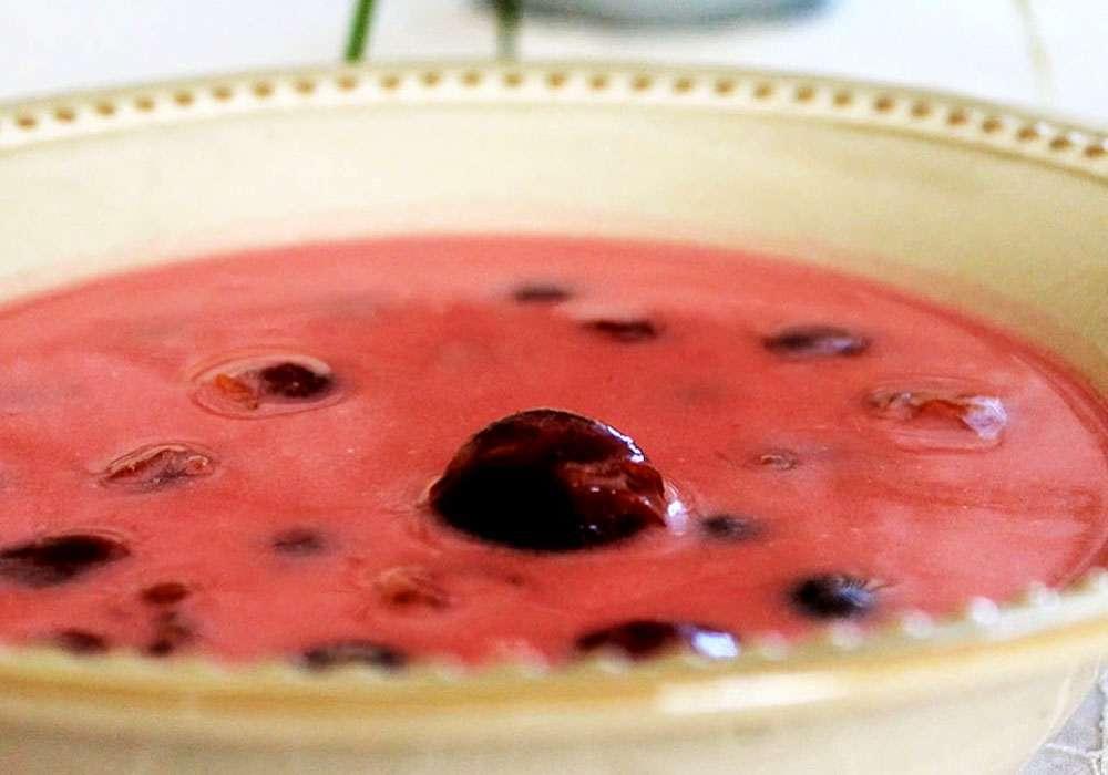 Ягодный суп - пошаговый рецепт, фото 1