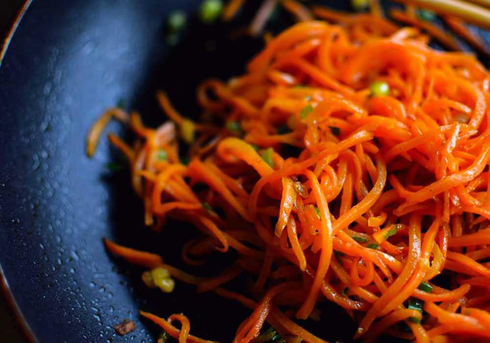 Закуска з моркви з часником - покроковий рецепт, фото 1
