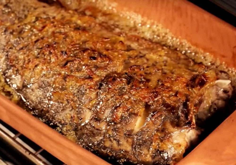Запеченный карп с медом - пошаговый рецепт, фото 1