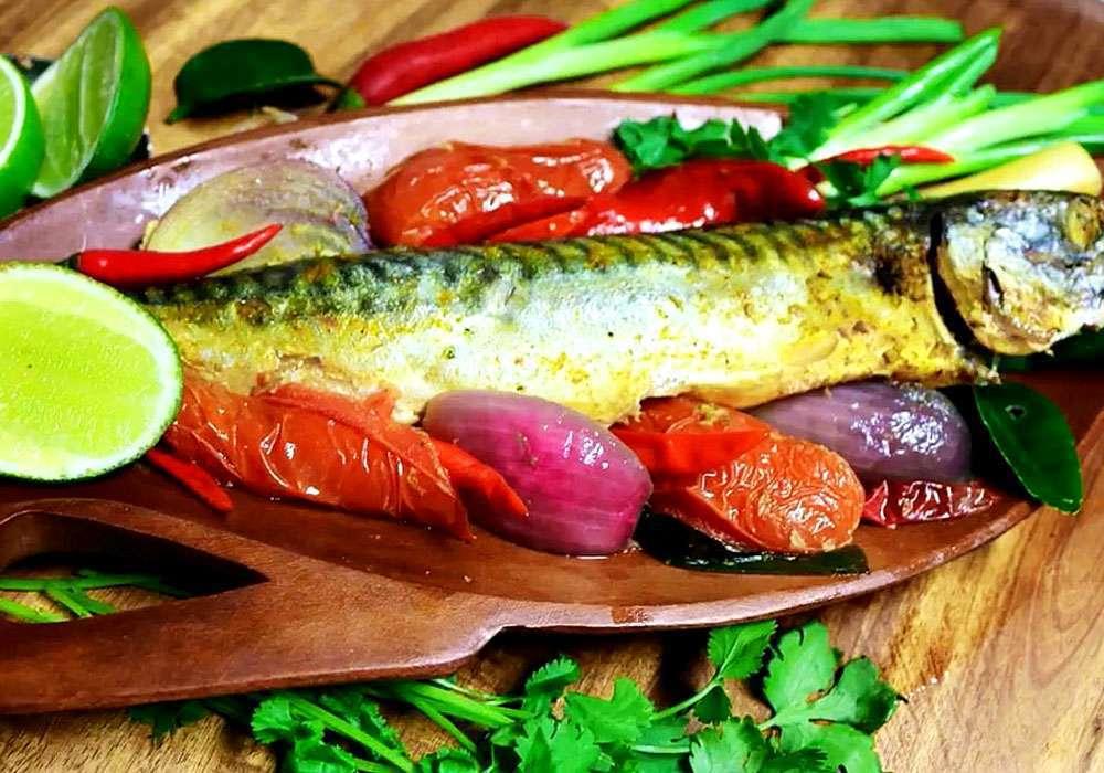 Запеченная скумбрия в духовке - пошаговый рецепт, фото 1