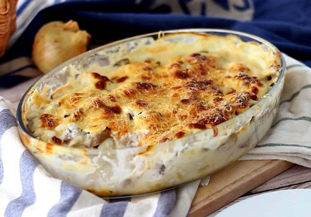 Запеканка из рыбы и картофеля - пошаговый рецепт, фото 1