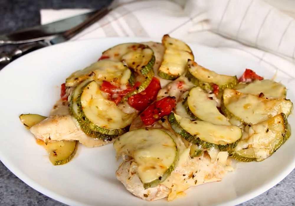 Запеканка из кабачков и курицы - пошаговый рецепт, фото 1