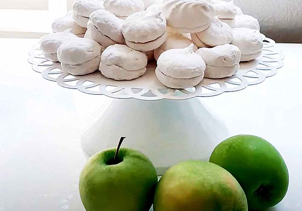 Зефир из яблок по ГОСТу домашний - пошаговый рецепт, фото 1
